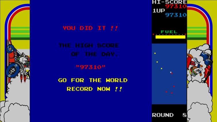 New Rally-X Screenshot 3