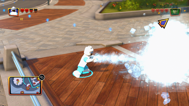 Freeze! Achievement in LEGO The Incredibles