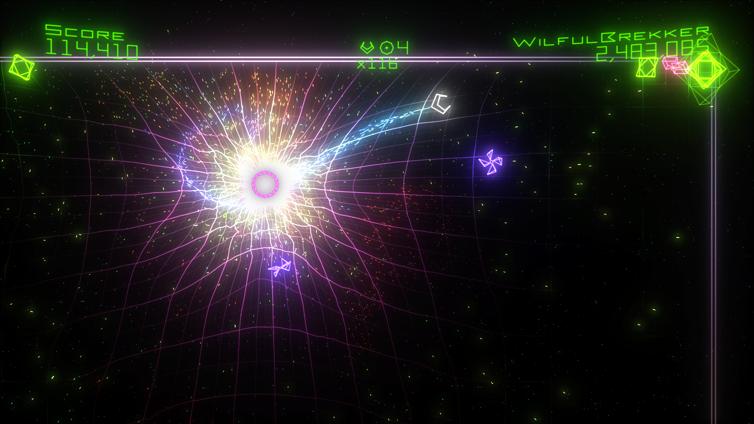 Geometry Wars: Retro Evolved² Screenshot 3