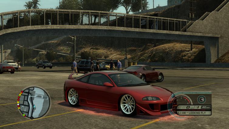 Midnight Club: Los Angeles Screenshot 3