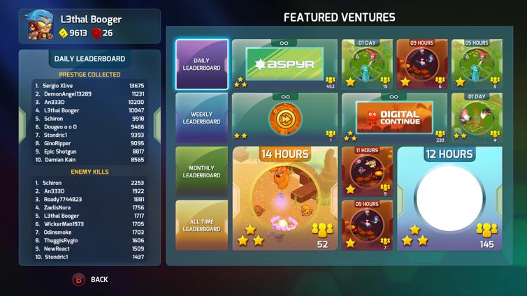 Next Up Hero Screenshot 2