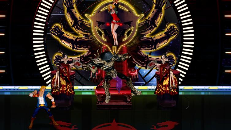 Double Dragon Neon Screenshot 4
