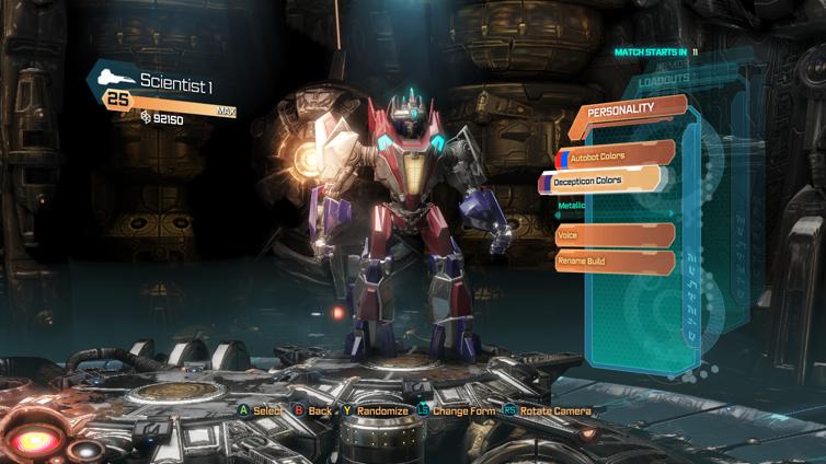 Transformers: Fall of Cybertron Screenshot 1