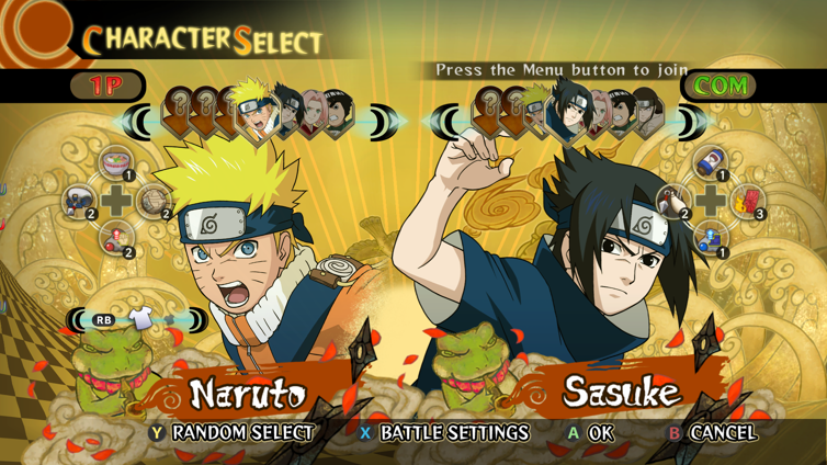 Naruto: Ultimate Ninja Storm Screenshot 2
