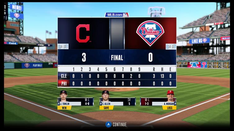 R.B.I. Baseball 16 Screenshot 4