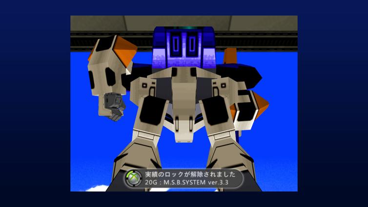 Cyber Troopers Virtual-On Screenshot 2