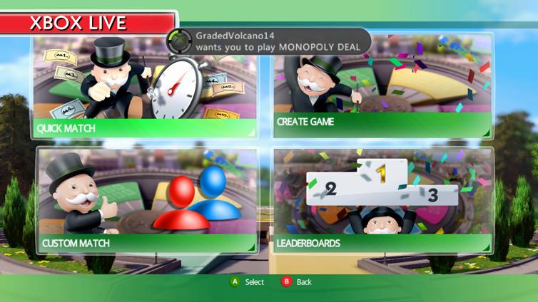 MONOPOLY Deal (Xbox 360) Screenshot 2