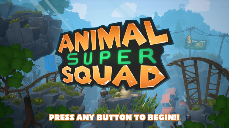 Animal Super Squad Screenshot 1